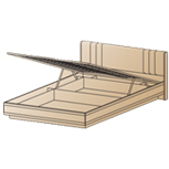Кровать КР-1012 (1,4х2,0) Лером