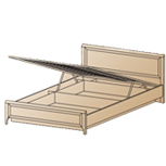Кровать КР-1023 (1,6х2,0) Лером
