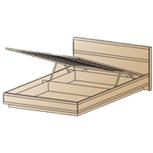 Кровать КР-1001 (1,2х2,0) Лером