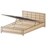 Кровать КР-1033 (1,6х2,0) Лером